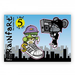 Brainfart Stickermag #5
