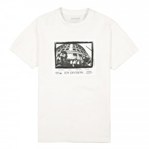 Joy Division x Pleasures Band T-Shirt ( C19W101011 / White )