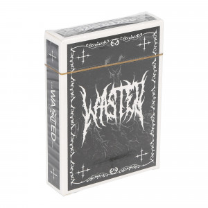 Wasted Paris Card Game Dark ( Black / White )