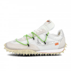 Off-White x Nike Wmns Waffle Racer ( CD8180 100 )
