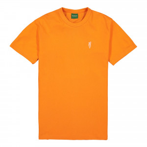 Carrots One Point Knit Shirt ( CF19-COPSS / Orange )