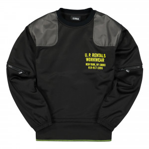 U.P.W.W. Crewneck ( CS01 / Black )