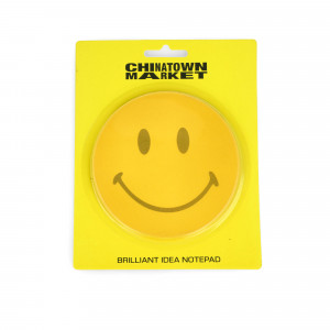 Chinatown Market Smiley Post It Note Pad ( CTM260018 / 0201 / Yellow )