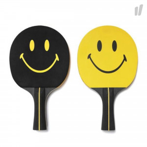Chinatown Market Ping Pong Paddle Set ( CTM-PPP / Yellow / Black )
