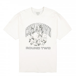 Chinatown Market Round Two UV Flower T-Shirt ( CTMR2-UVFLT / White )