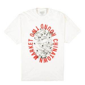 Chinatown Market Round Two UV Frog T-Shirt ( CTMR2-UVFT / White )