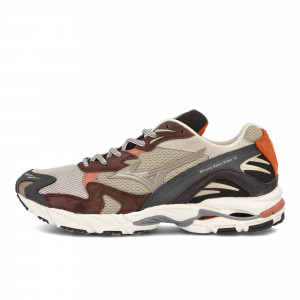 Wood Wood x Mizuno Wave Rider 10 ( D1GD200655 )