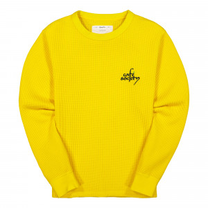 Reception Waffle Sweat ( F0018 / Yellow )