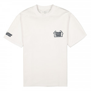 Reception Shortsleeve Flag Tee ( F0026 / White )