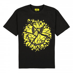 Chinatown Market Glass Smiley Tee ( F20-1990008 / 0001 / Black )