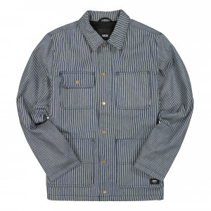 Vans Drill Chore Coat Hickory Stripe ( F2P7N1 )