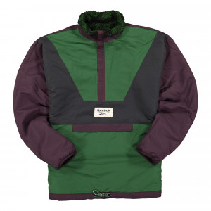 Reebok Classic GP Winter Escape Reversible Fleece Half Zip ( FT7383 )