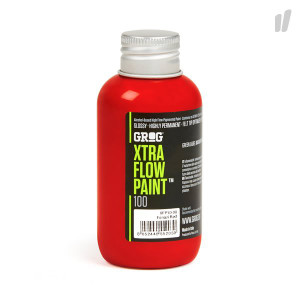 Grog Xtra Flow Paint 100ml Refill