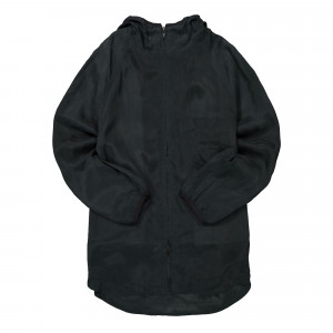 Y-3 M Shade Sanded Cupro Hooded Top ( GT5261 )