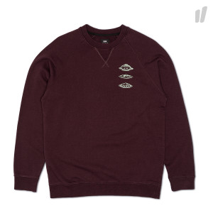 Edwin Flying Saucer Reglan Sweat ( I025853.2K.67.03 / Plum )