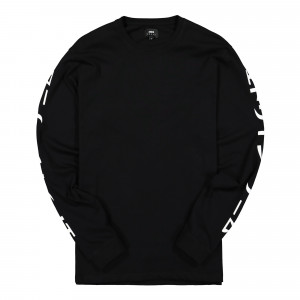 Edwin Gang II TS LS Cotton Single Jersey ( I027301.89.67.03 / Black )