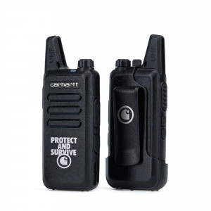 Carhartt WIP Protect Survive Walkie Talkie ( I027449.89.00.06.0 / Black )