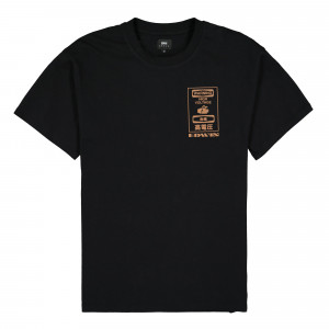 Edwin Warning TS Single Jersey ( I028566.89.67.03 / Black )