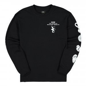 Edwin Strange Objects TS LS Single Jersey ( I028583.89.67.03 / Black )