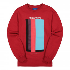 Know Wave Volume Issue Longsleeve Tee ( KFA1988 / Red )