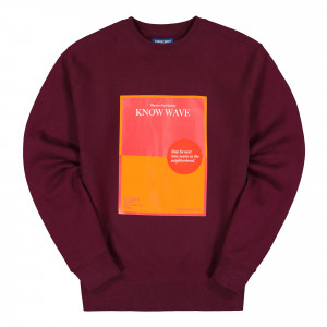 Know Wave Warrior Poet Society Crewneck ( KFA1990 / Red )