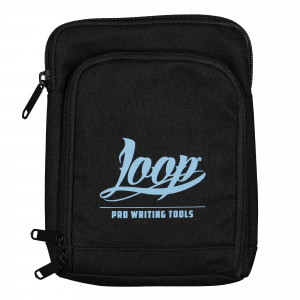 Loop Shoulder Pouch Logo Blue