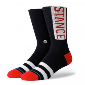 Stance OG Socks ( M556D17OGG-RED )