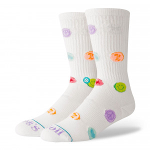 Stance Lets Roll Socks ( M556D18LET-WHT )