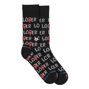 Stance Foundation Lover Loser Socks ( M558C19LOV-BLK )