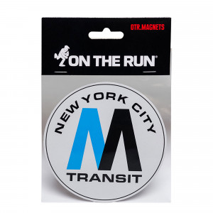 On The Run Magnet New York MTA Logo