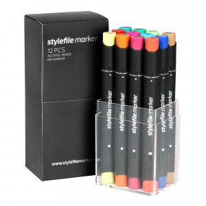 Stylefile Marker 12er Main Set B