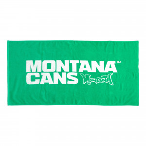 Montana Beach Towel Typo + Logo ( 513121 / Green )