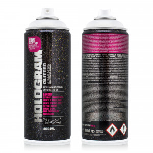 Montana Glitter Hologram Effect Spray 400 ml