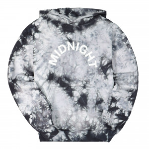 Midnight Studios Tie Dye Logo Hoodie ( MS-04A-04-001 / Black )