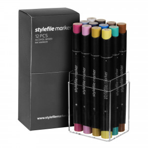 Stylefile Marker 12er Multi Set 27