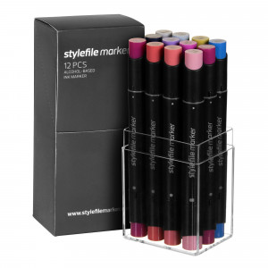 Stylefile Marker 12er Multi Set 28