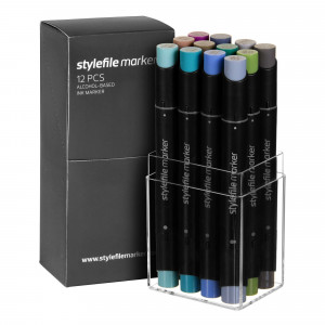Stylefile Marker 12er Multi Set 29