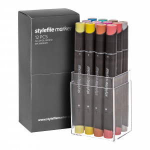 Stylefile Marker 12er Multi Set 31