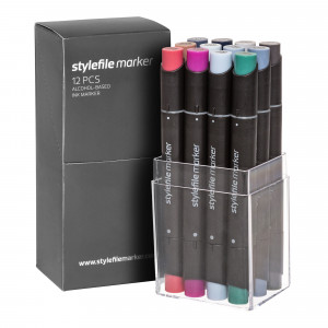 Stylefile Marker 12er Multi Set 32