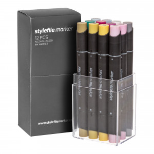 Stylefile Marker 12er Multi Set 33