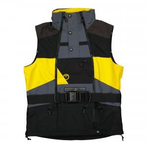 The North Face Steep Tech Black Series Vest ( NF0A4QYUSH41 / Lighting Yellow/TNF Black )