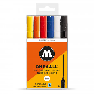 Molotow ONE4ALL 127HS Basic 6 Set 1