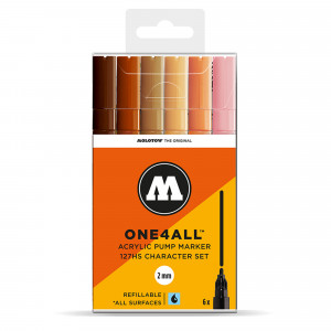 Molotow ONE4ALL 127HS Character-Set