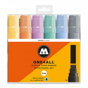 Molotow ONE4ALL 627HS Pastel-Set