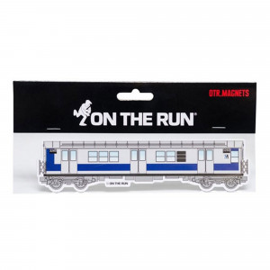 On The Run Magnet New York Subway Silver