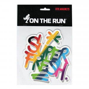 On The Run Magnet Super Fresh