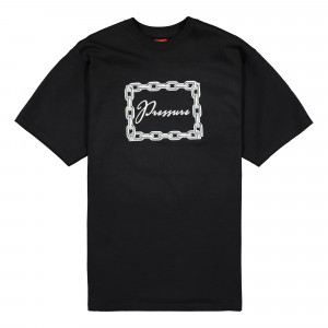Pressure Chain T-Shirt ( Black )