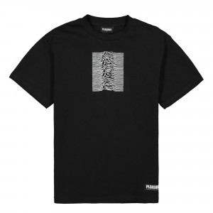 Joy Division x Pleasures Shadow Play Embroidered Premium T-Shirt ( P19JD008 / Black )