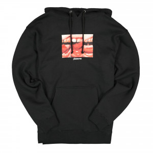 Pleasures Mouth Off Hoody ( P19W015 / Black )
