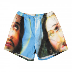 Pleasures Holy Shorts ( P20F013 / Blue )